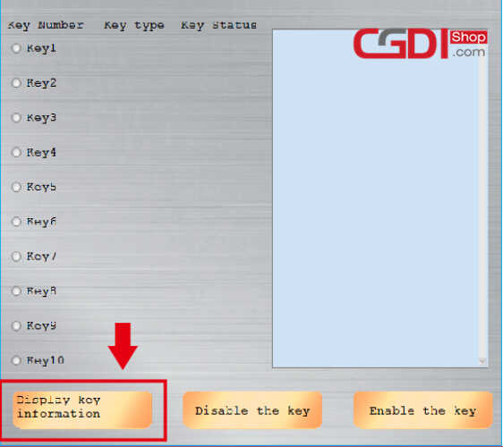 How to Use CGDI BMW to DisableEnable BMW F-series Keys (2)