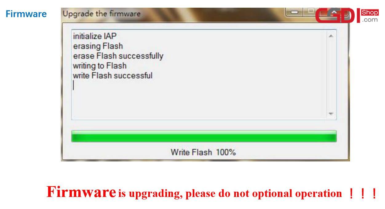 CGDI BMW Prog Fireware and Software Update Guide