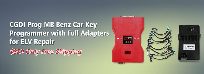 CGDI Prog MB Benz Car Key Programmer
