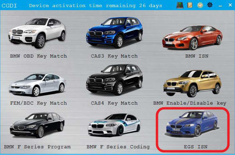 CGDI BMW EGS ISN Clear and Synchronize Guide (2)