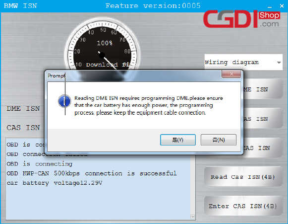 CGDI BMW Pro to Program CAS3 MSV80 ECU (10)