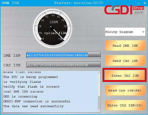 CGDI BMW Pro to Program CAS3 MSV80 ECU (11)