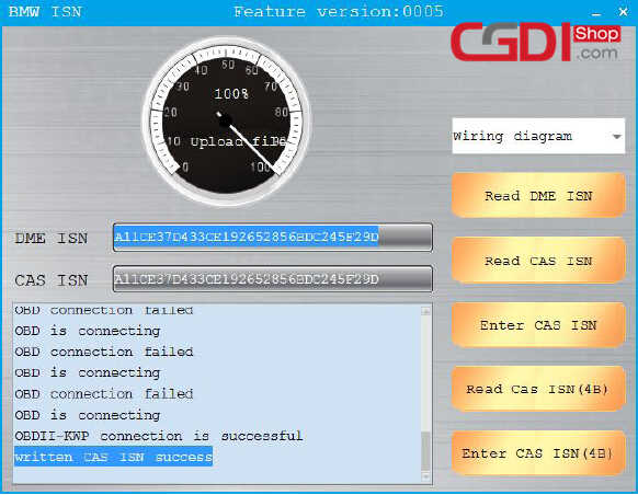 CGDI BMW Pro to Program CAS3 MSV80 ECU (13)