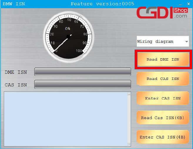 CGDI BMW Pro to Program CAS3 MSV80 ECU (5)