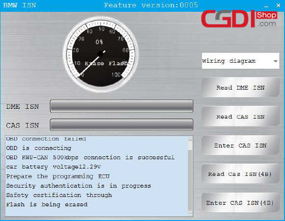CGDI BMW Pro to Program CAS3 MSV80 ECU (7)