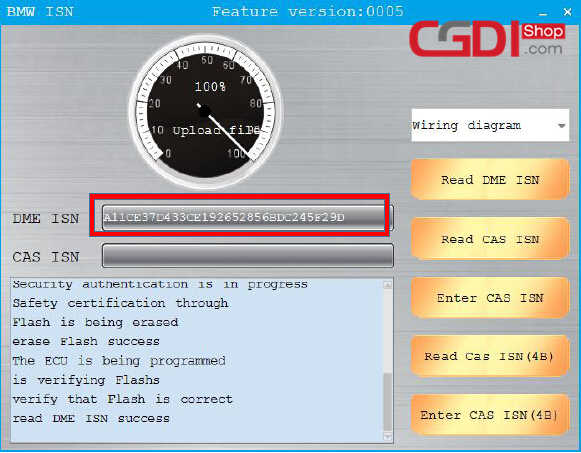 CGDI BMW Pro to Program CAS3 MSV80 ECU (8)