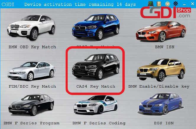 CG Pro to Add New Key for BMW CAS4 (7)