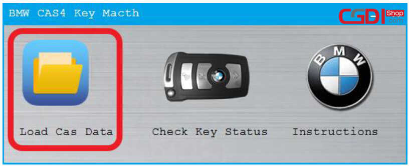 CG Pro to Add New Key for BMW CAS4 (8)
