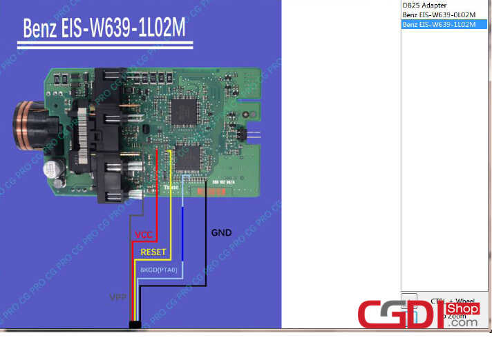 Add Benz W639 with CGDI Pro and CGDI MB (4)