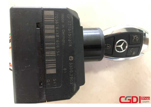 CGDI MB Program New Key for Benz W221 (7)