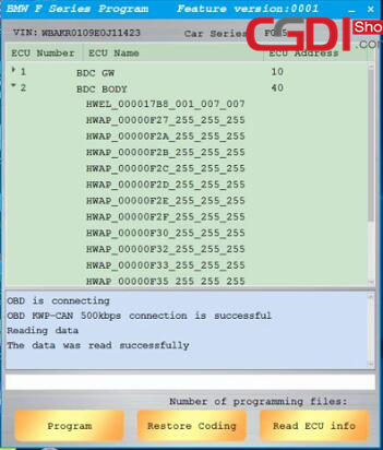 CGDI BMW Program BMW F-serie BDC ECU Programming (3)