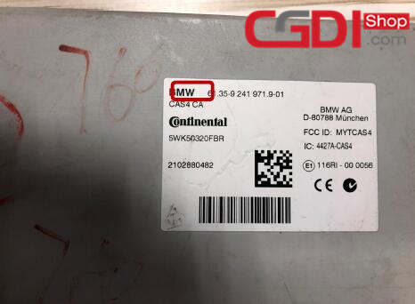 CGDI BMW,CG Pro,CG-100 BMW CAS4+ All Key Lost (1)