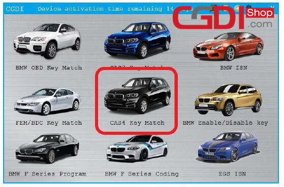 CGDI BMW,CG Pro,CG-100 BMW CAS4+ All Key Lost (13)