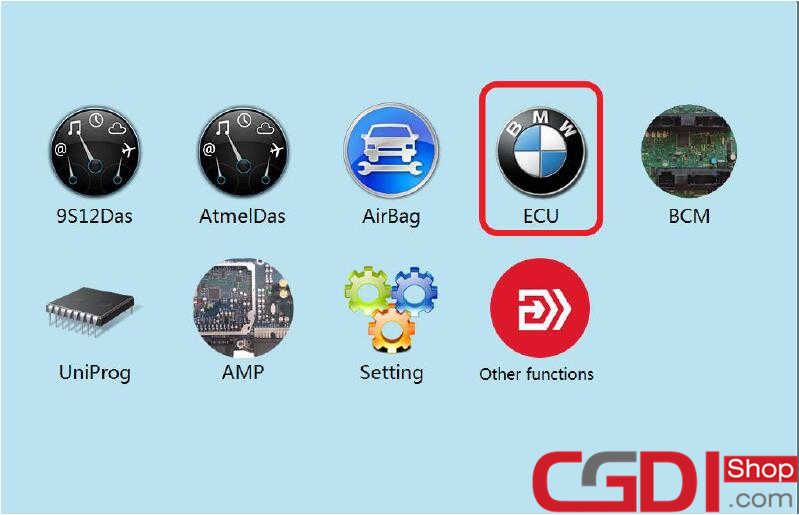 CGDI BMW All Key Lost Programming for BMW CAS3+ (1)