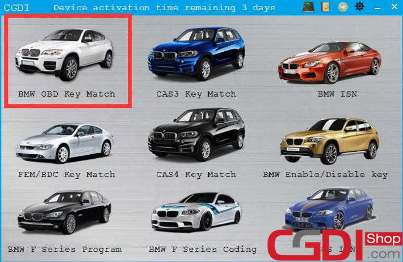 CGDI BMW All Key Lost Programming for BMW CAS3+ (8)
