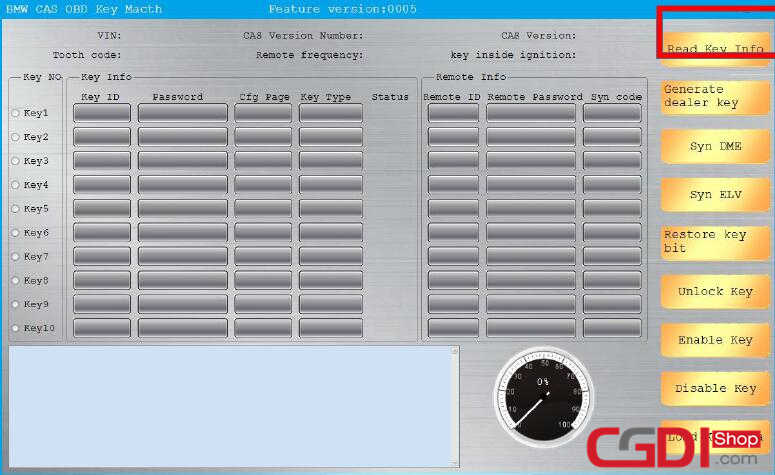How to Use CGDI BMW Add New Keys for BMW CAS3 System (2)